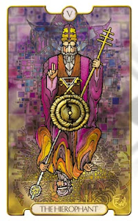 The Hierophant is perhaps the most important of the Major Arcana in Tarot decks.