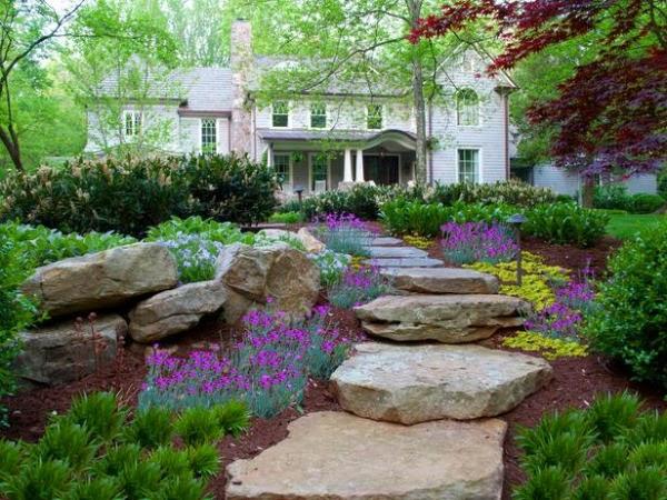 15 ideas para dise ar un camino de jard n guia de jardin Como tener un lindo jardin