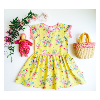 Oobi dress and moulin roty toys in Shorties
