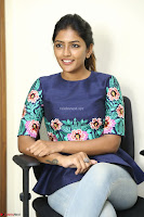 Eesha Looks super cute stunning in Denim Jeans and Top at Darsakudu movie Inerview ~  Exclusive 020.JPG