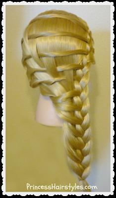 Superb Step Ladder Braid Hairstyle Hairstyles For Girls Princess Short Hairstyles For Black Women Fulllsitofus