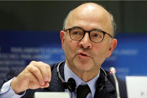 Μοσκοβισί: Χρειαζόμαστε και το ΔΝΤ στο ελληνικό πρόγραμμα