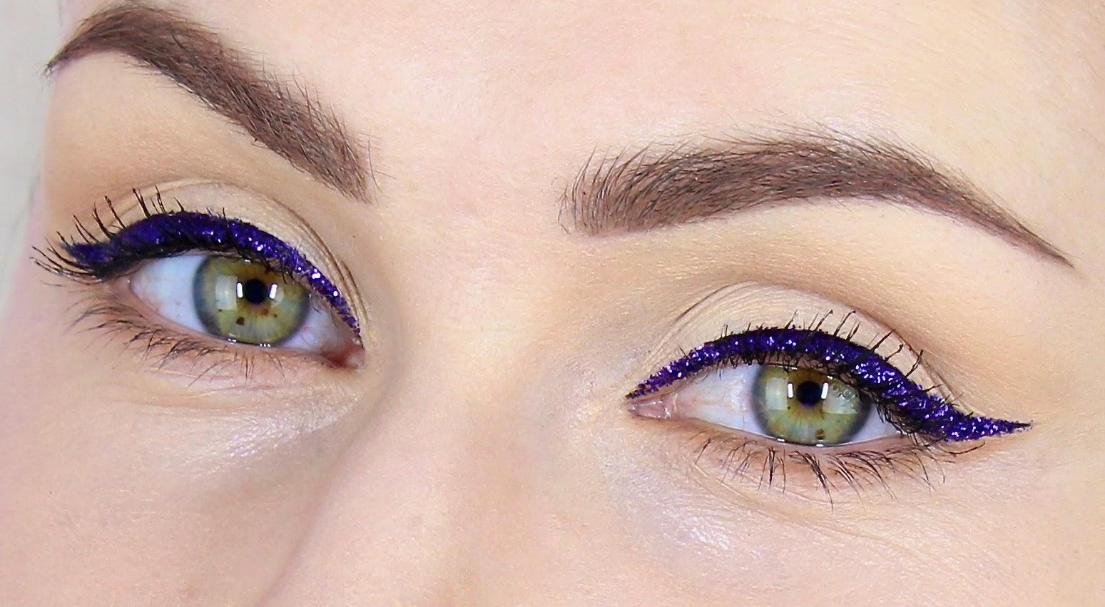 Imagini pentru INGLOT Liquid Eyeliner cu glitter