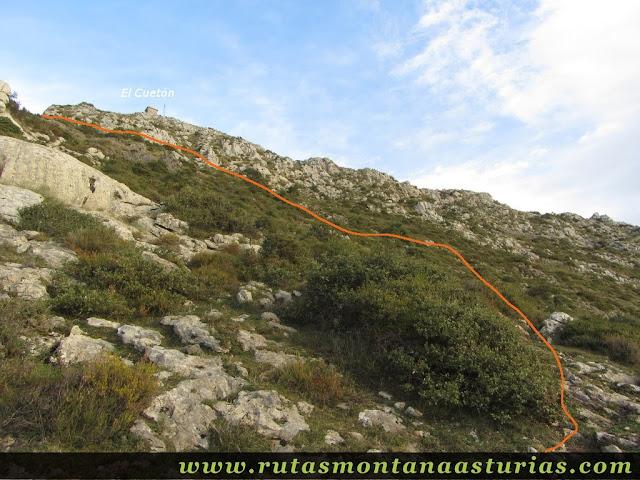 Cueton en la Sierra de Benzúa