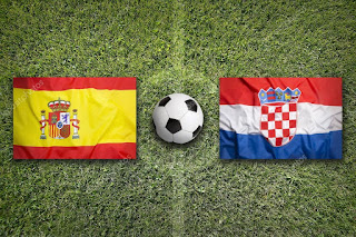 ماتش كرواتيا اسبانيا مباشر كورة لايف