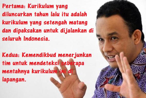 Desember 2014, Nasib Kurikulum 2013 Diputuskan