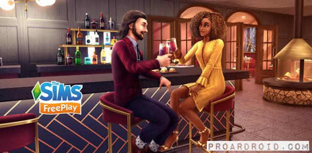 لعبة The Sims FreePlay v5.50.0 مهكرة كاملة للأندرويد (اخر اصدار) logo