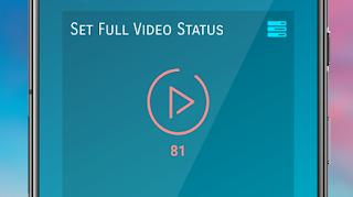 Status downloader , set full video in status