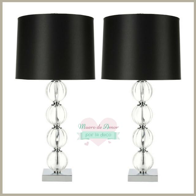 Lámparas modernas con mucho Glamour