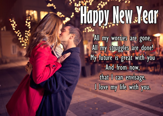 Happy New Year Quotes For Love, GF, BF