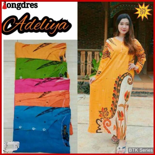 BTK074 Baju Longdress Adelia Modis Murah BMGShop