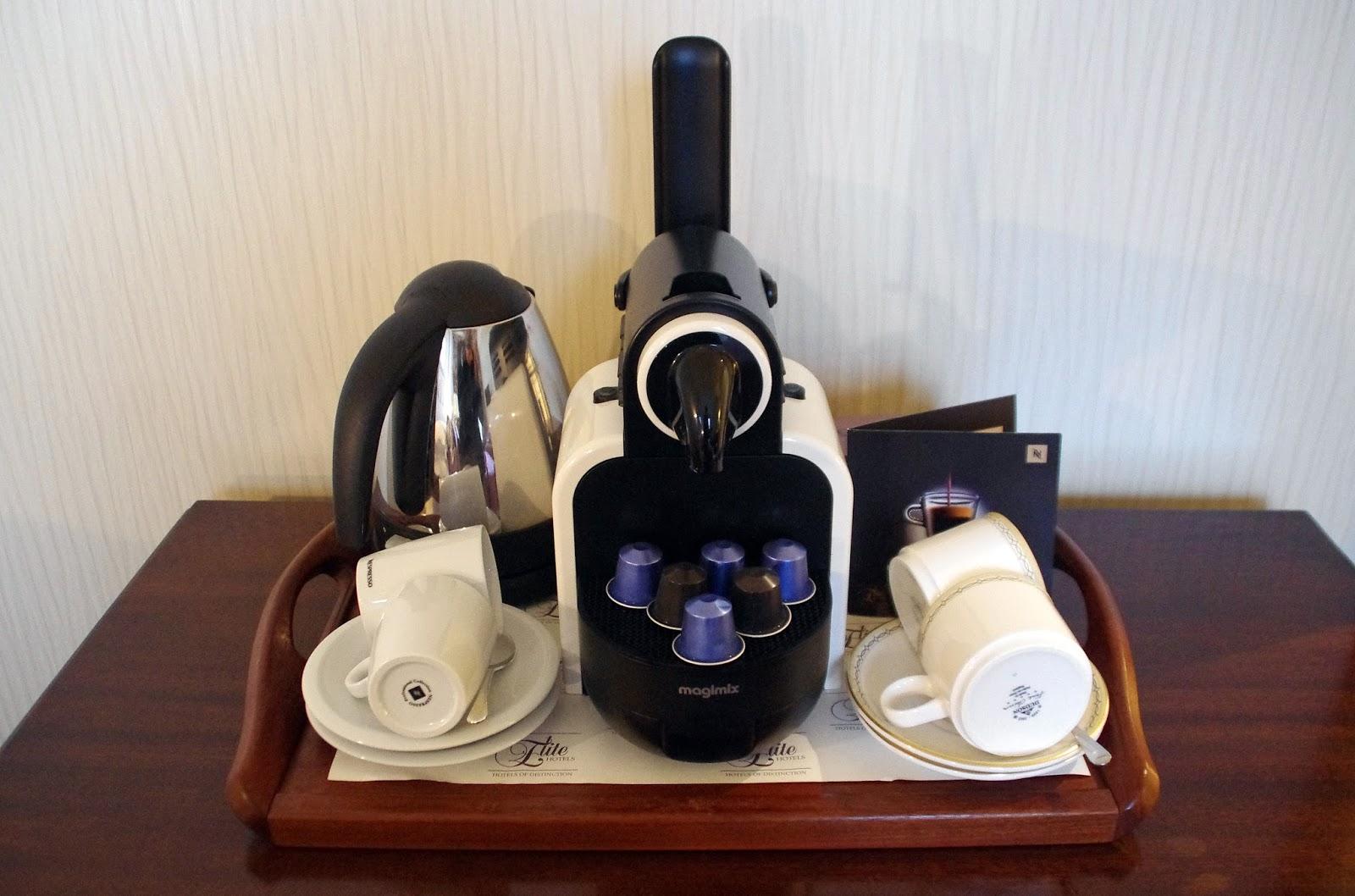 The Grand Hotel Eastbourne Nespresso Machine