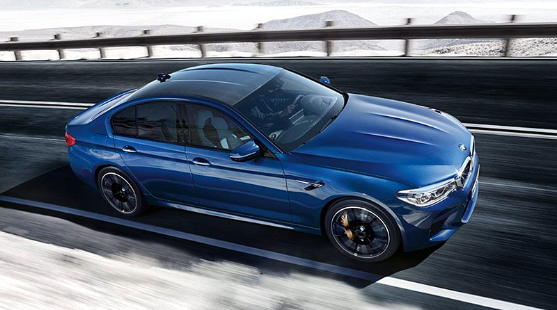 2018 BMW M5 With M xDrive