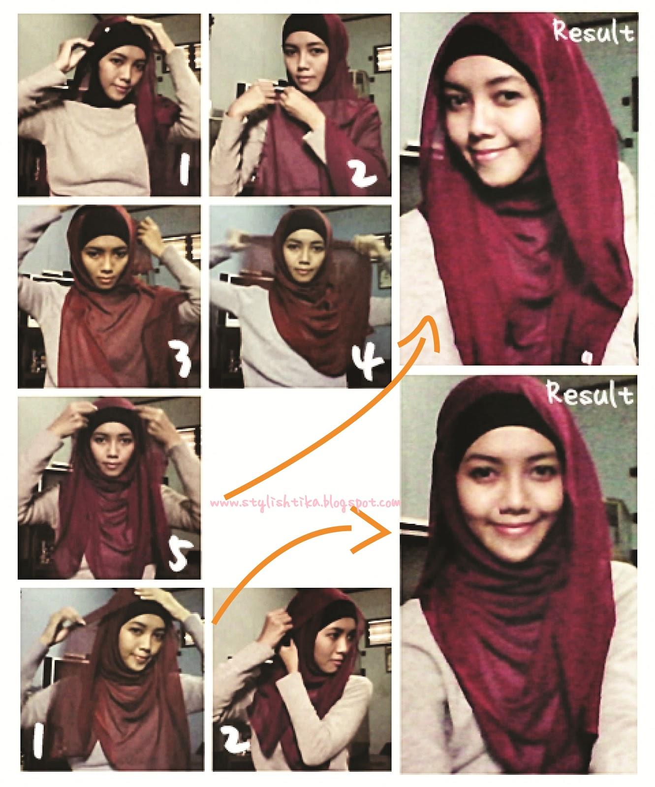 Tutorial Hijab Segi Empat Remaja Simple Tutorial Hijab Paling