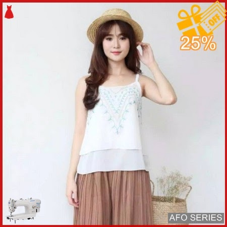 AFO708 Model Fashion Anavel Top Modis Murah BMGShop