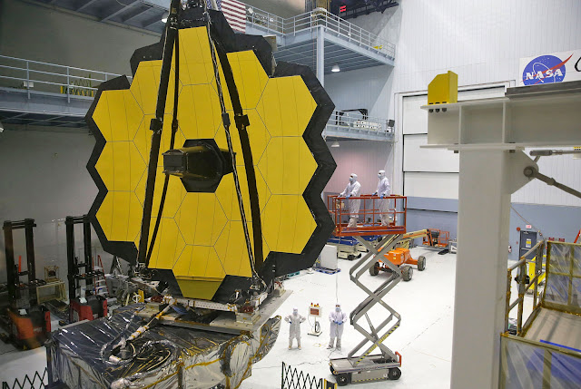 Teleskop, JWST, Nasa, Esa, space, hubble, moon, james webb, rocket, light