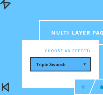 How to Create Simple Multi-Layer Page Transition Effects - Top