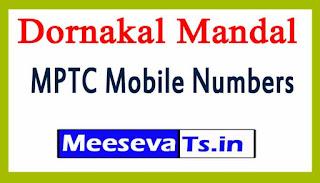 Dornakal Mandal MPTC Mobile Numbers List Warangal District in Telangana State