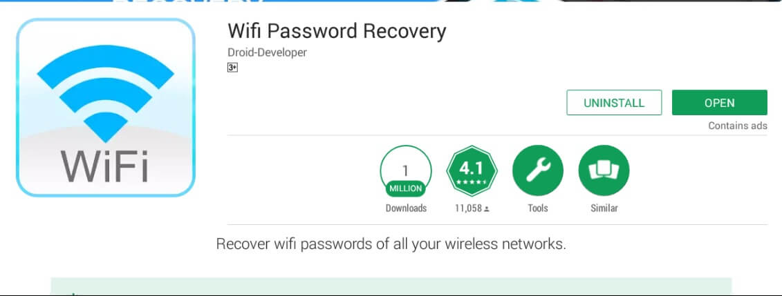 Pass wifi android