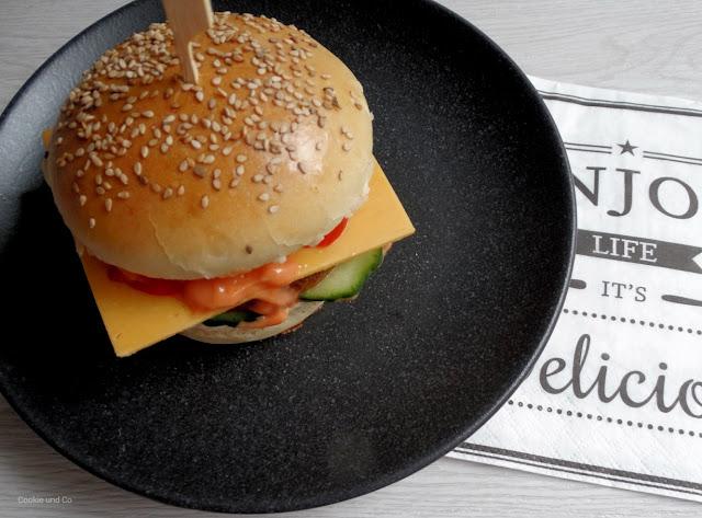 Burger Buns / Brötchen für Hamburger