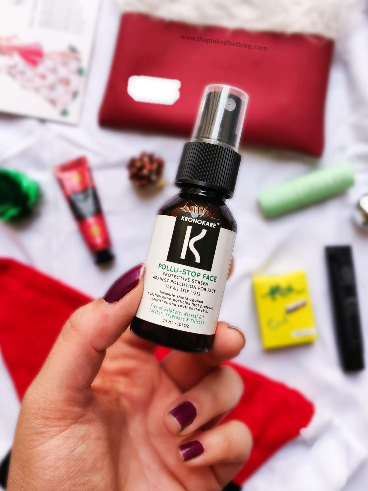 December 2018 FAB BAG Unboxing and Review - Kronokare Pollu-Stop Face Mist