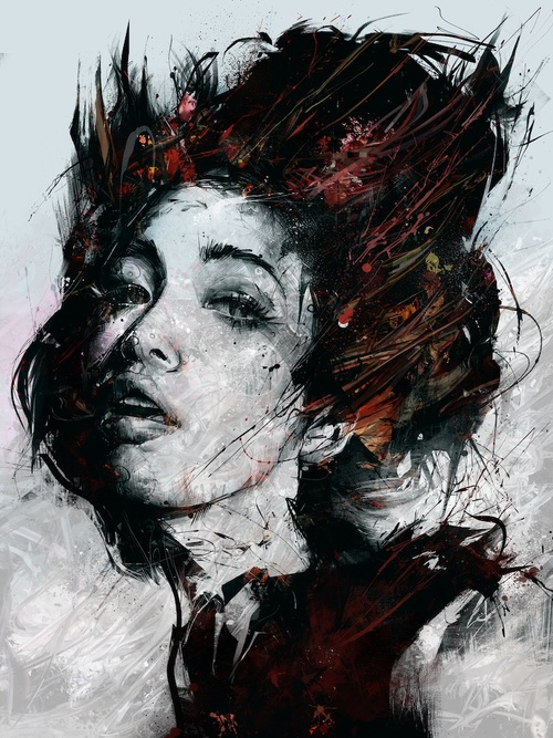 09-Live-at-Last-Russ-Mills-Paintings-with-Intensity-of-Expression-www-designstack-co
