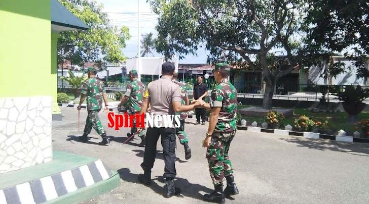 Kolonel Inf Suwarno, S.A.P, Kunker  di Makodim 14O4/Pinrang