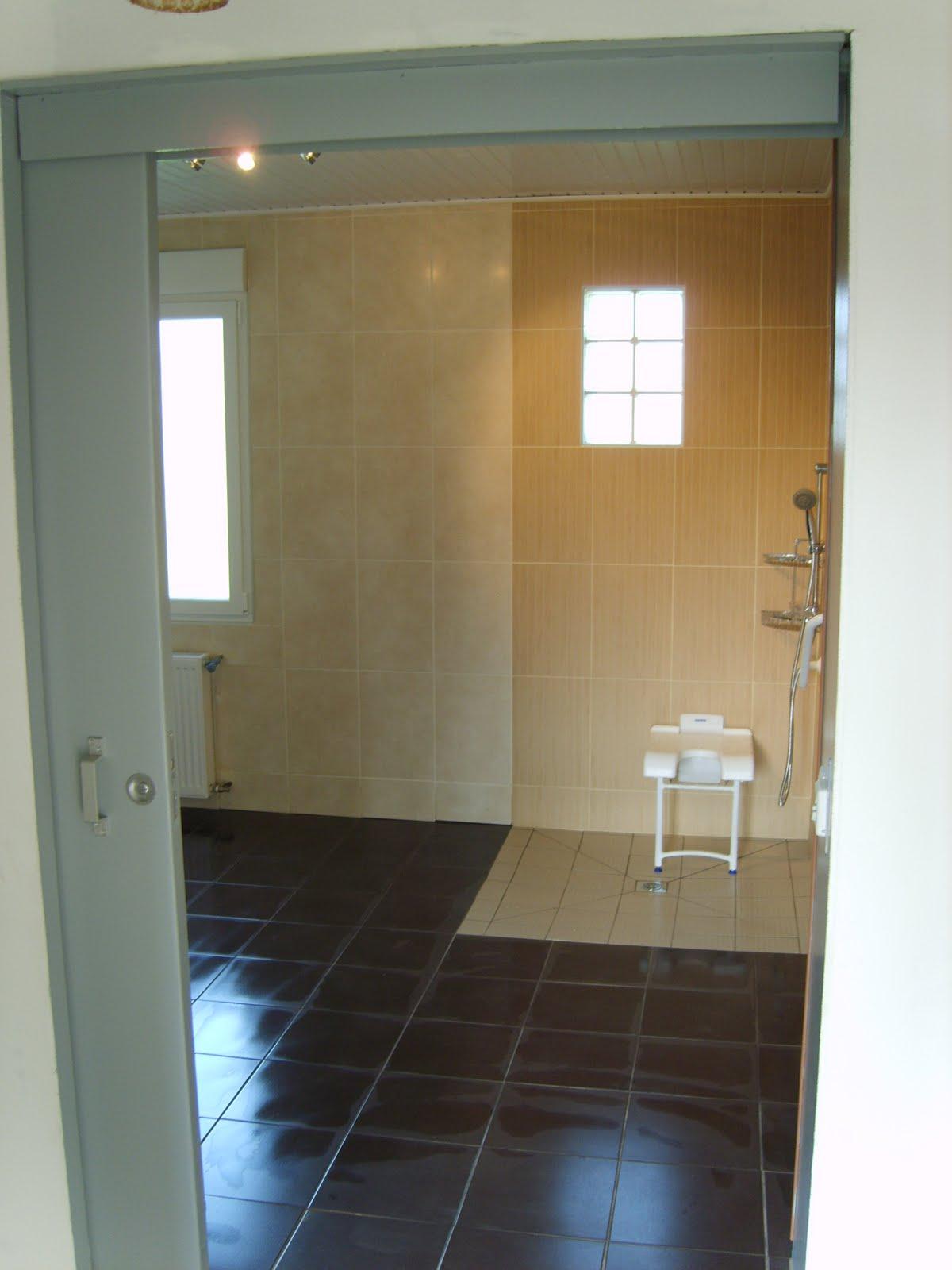 vos travaux vous m me salle de bain pour personne mobilit reduite. Black Bedroom Furniture Sets. Home Design Ideas