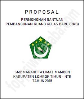 Contoh Proposal Ruang Kelas Baru