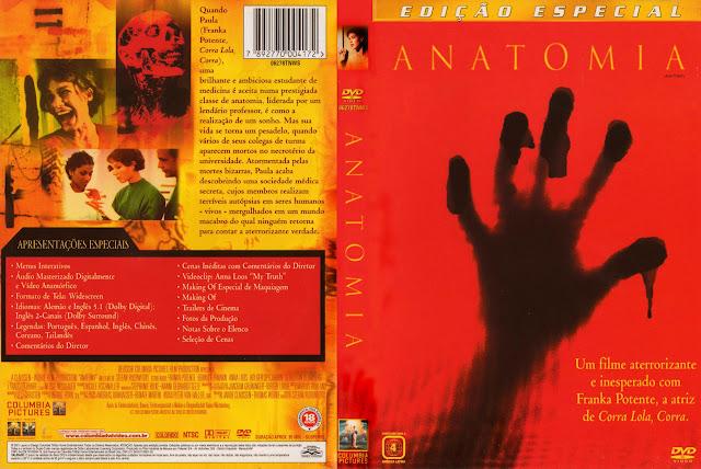 Capa DVD Anatomia