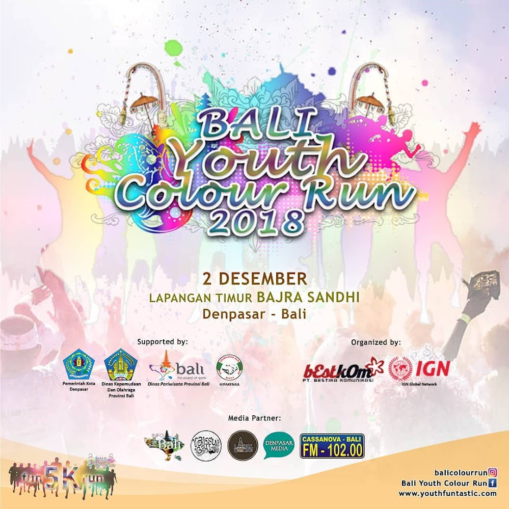 Bali Youth Colour Run • 2018