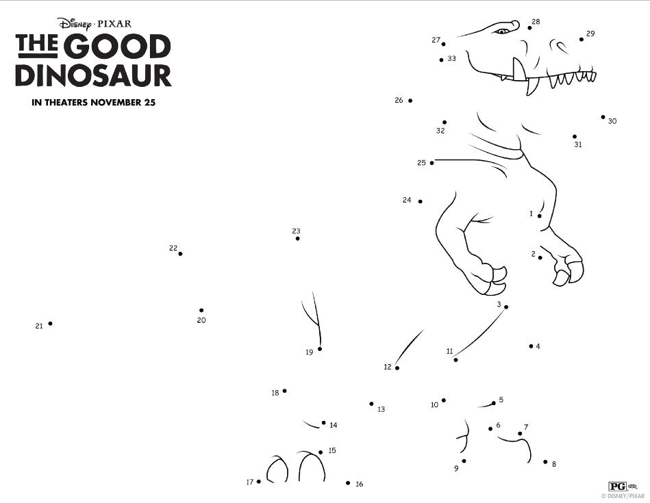The Good Dinosaur El Capitan Discount + Free Activity