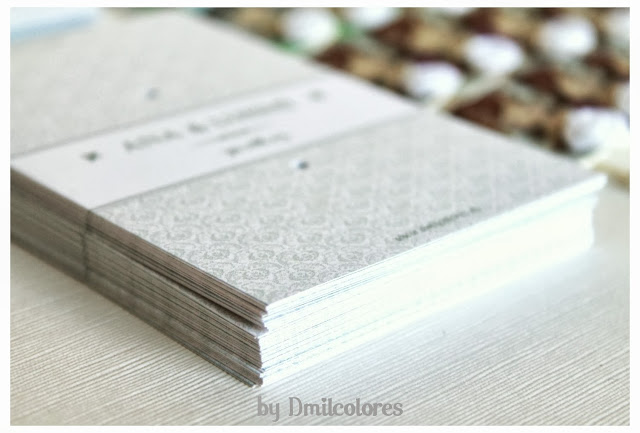 Packaging para alfileres de boda