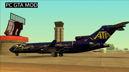 Free Download Boeing Super 27 Mega Mod Pack Mod for GTA San Andreas.
