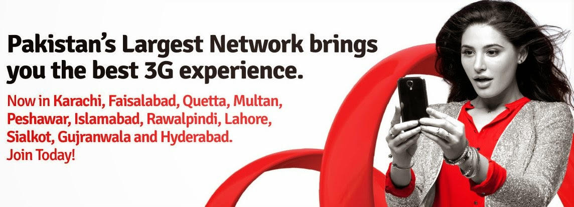 Mobilink announced the new 3G offer for Mobilink customer and users