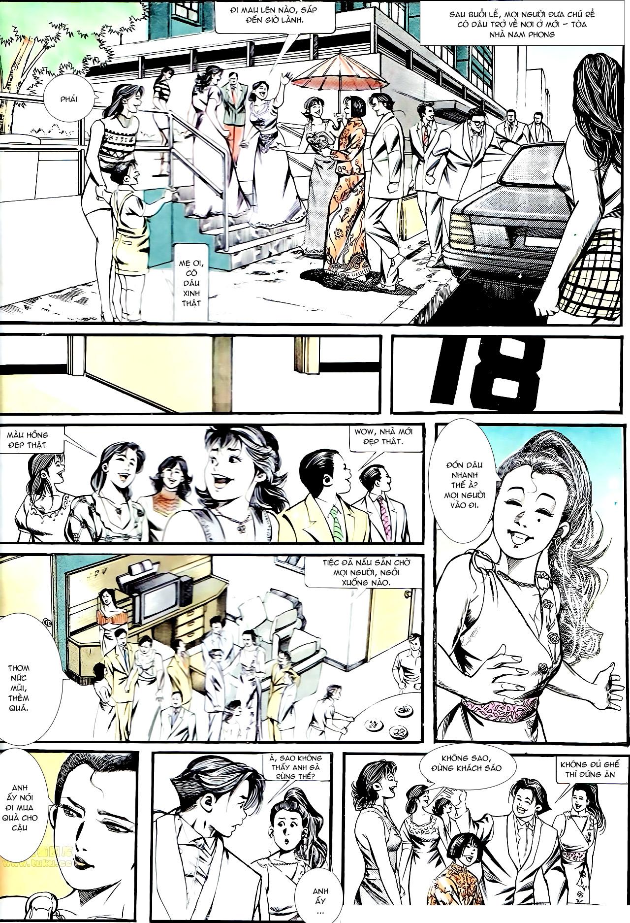 Người Trong Giang Hồ chapter 137: yêu nhất là ai trang 37