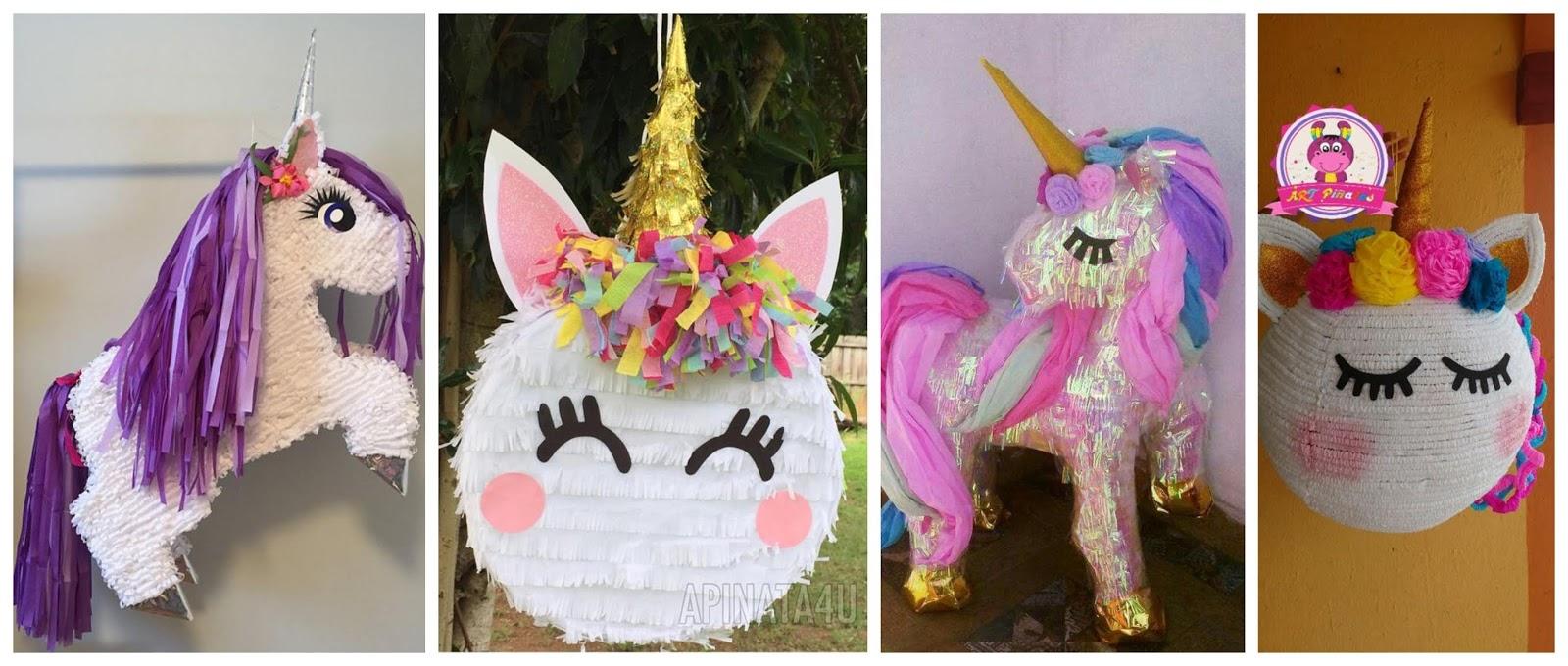 Aprende Cómo Hacer Una Piñata De Unicornio Con Cartón Reciclado
