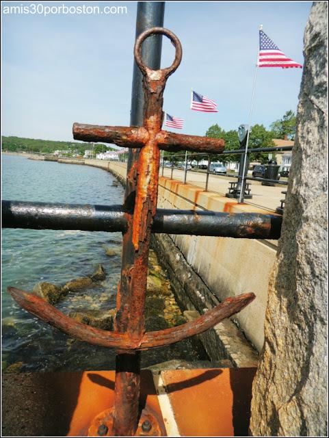 Detalles del Paseo Marítimo de Gloucester: Stacy Boulevard