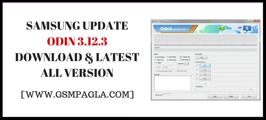 Samsung Update Odin 3.12.3 Download Latest All Version