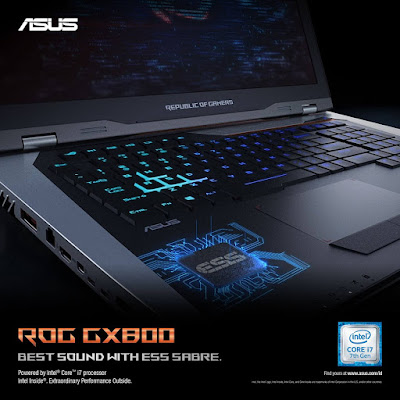 ASUS ROG GX800 ESS Sabre