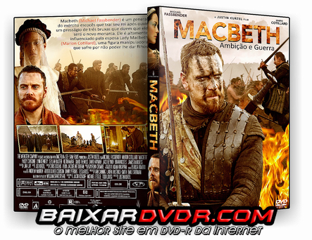 MACBETH – AMBIÇÃO E GUERRA (2016) DUAL AUDIO DVD-R OFICIAL