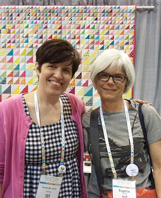 Quiltcon 2017 - Amanda Jean - Crazy Mom