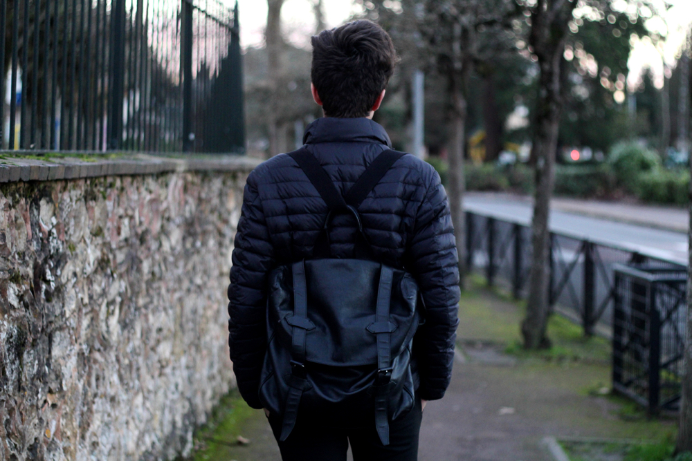 Sac Messenger Givenchy Homme cuir noir amovible sac à dos blog mode homme fashion blog