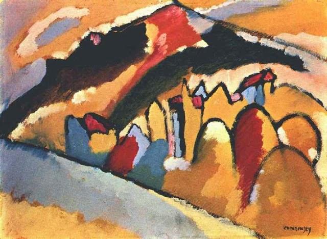 Estudo Para Outono - Kandinsky e suas pinturas | O pioneiro da arte abstrata