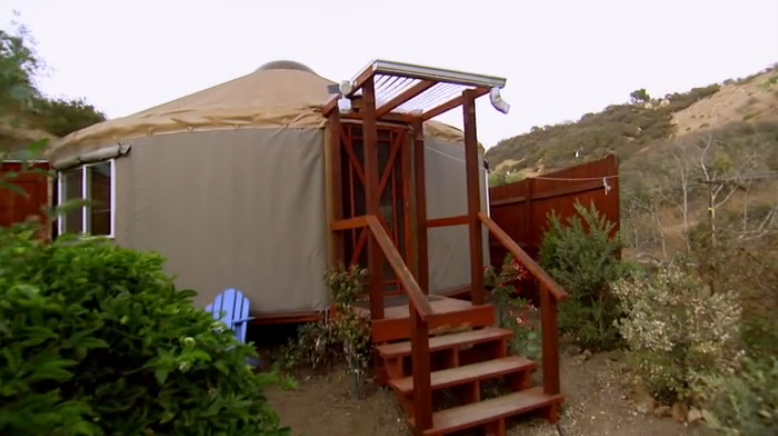 Fine Me Hgtv Tiny House Hunters Yurt Mcgirt Largest Home Design Picture Inspirations Pitcheantrous