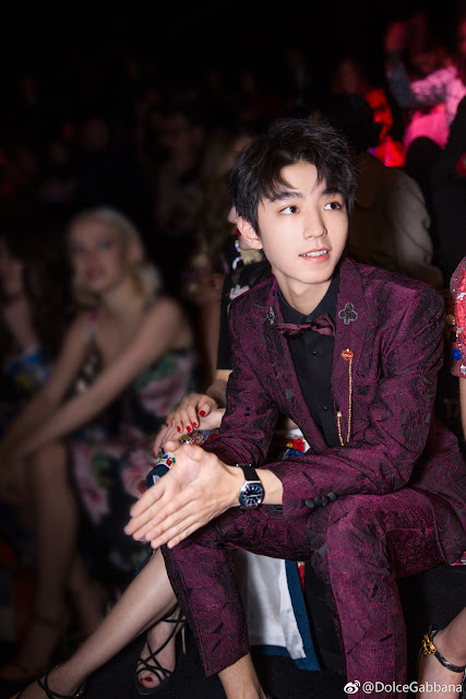 TFBoys Wang Junkai Milan Fashion Week 2018