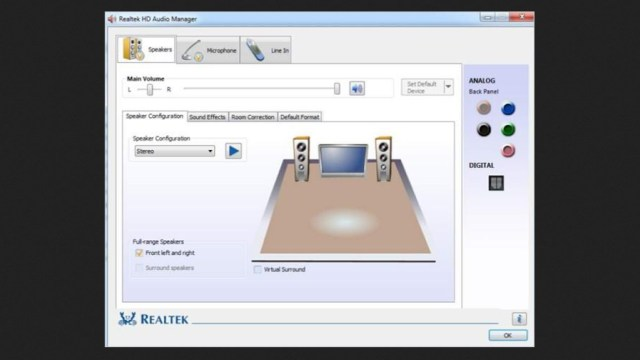 Realtek HD Audio Manager Download Free for Windows 10, 7, 8