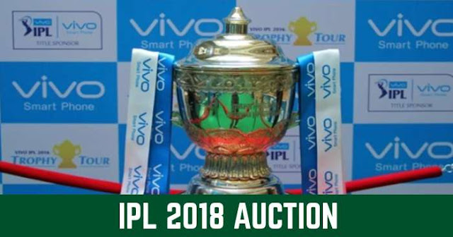 Everything you need to know about IPL 2018 Auction