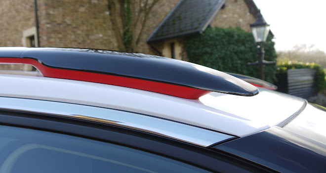 Citroen C5 Aircross colour pack roof bars