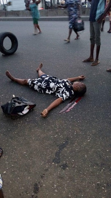 Omg! Read How Bus Driver Killed a Woman on Her Way to Work in Lagos (Graphic Photo)